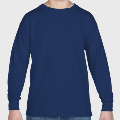Cotton Long Sleeve Youth Tshirt